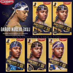 """Kiss Bow Wow Power Wave Luxe Design Pattern Men's Durag 40""""x"""