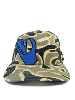 Camouflage Hat New Quiksilver Men's Mountain And Wave Camo F