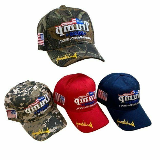 trump 2020 keeping america great 3d embroidered