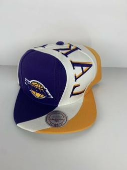 Los Angeles Lakers Mitchell & Ness HWC Wave Style Snapback H