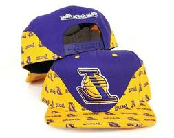 Mitchell & Ness Wave Los Angeles Lakers snapback Hat Cap