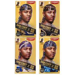 """RED BY KISS POWER WAVE LUXE DESIGN DURAG 40""""X3"""" LONG TAILS #"""