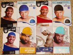 STOCKING WAVE CAPS SPANDEX KNIT DURAG DOORAG  MANY COLORS TO