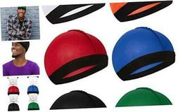 Syhood 6 Pieces Elastic Band Silky Wave Caps for Men Silk Ma